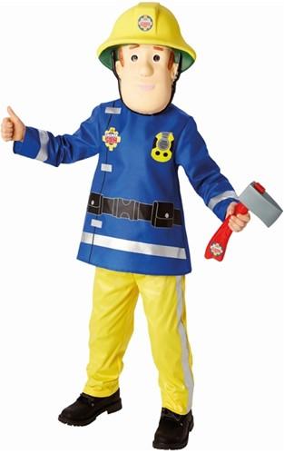 Kinderkostuum Brandweerman Sam Luxe