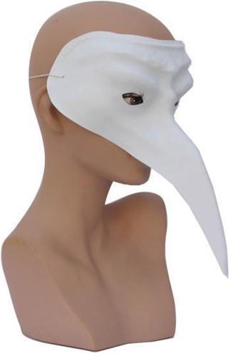 Venetiaans Snavelmasker Wit