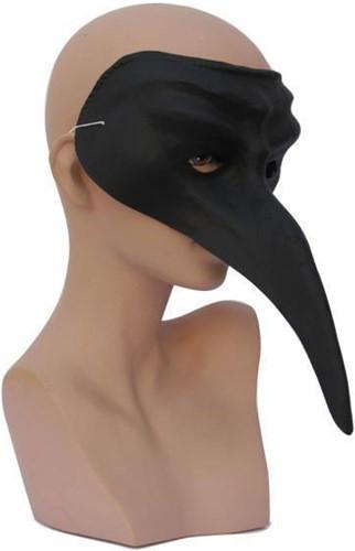 Venetiaans Snavelmasker Zwart