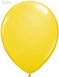 Ballonnen Metallic Geel 35cm - 100 stuks