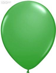 Ballonnen Metallic Groen 35cm - 100 stuks