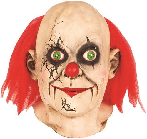 Clownsmasker Gebroken Pop (latex)