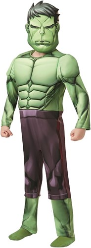 Kinderkostuum Hulk Deluxe