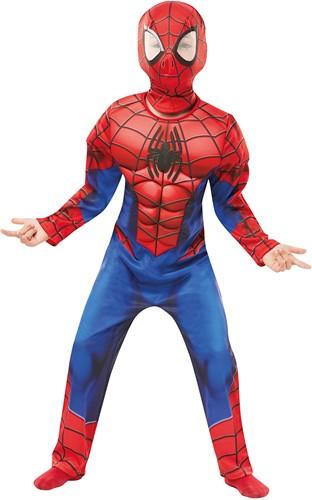 Kinderkostuum Spiderman (Deluxe Version)