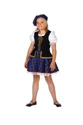 Schots Meisje Blauw
