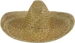 Mexicaanse Sombrero Naturel 50cm