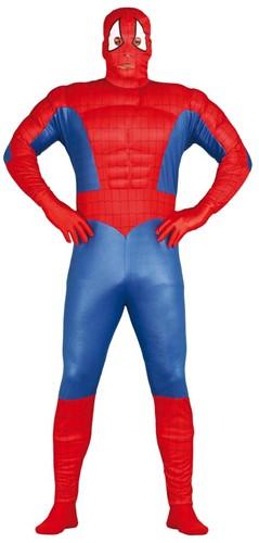 Herenkostuum Spiderman Gespierd