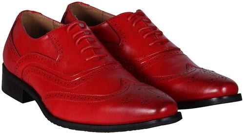 Heren Schoenen Rood Luxe