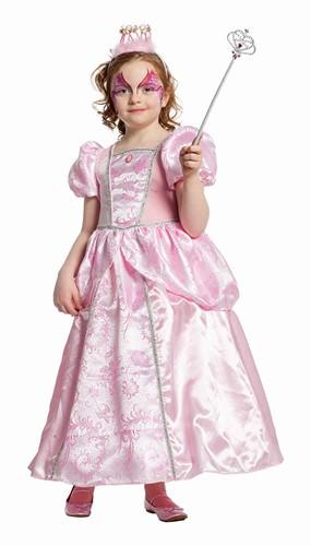 Prinsessenjurk Roze Luxe voor meisjes