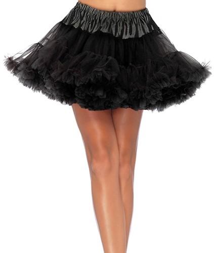 Petticoat Zwart Luxe (2 laags)