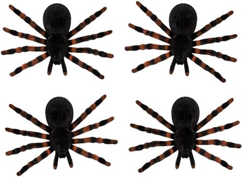 Set 4 Spinnen (7x11cm)