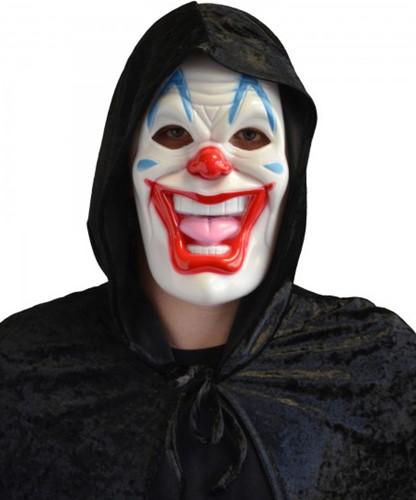 Halloween Masker Clown (plastic)