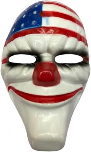 Halloween Masker Clown The Purge USA (plastic)