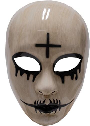Halloween Masker The Purge God Kruis (plastic)