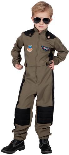 Kostuum Straaljagerpiloot Overall voor jongens