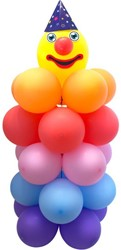 Ballondecoratie Clown (120cm)