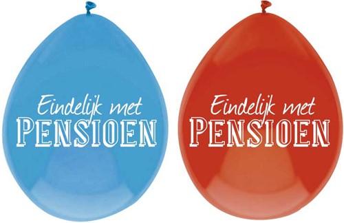 Ballonnen Pensioen 6st.