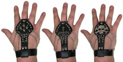 Armband met Ring Punk