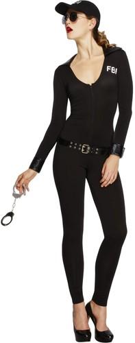 Dameskostuum Catsuit FBI Girl