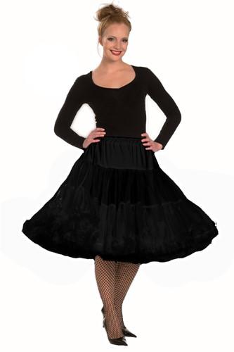 Petticoat Voile Zwart