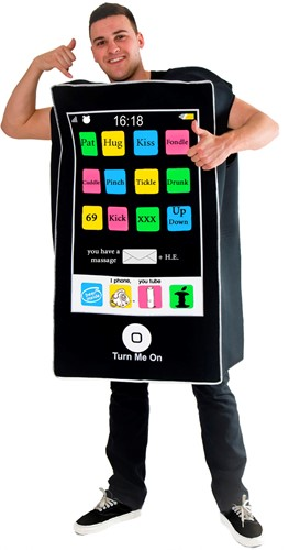 Kostuum Mobiele Telefoon FOAM
