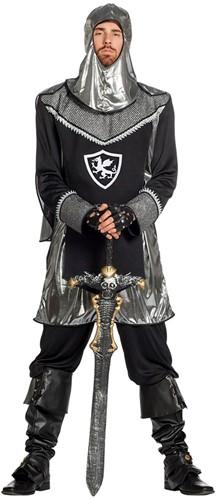 Ridderpak Zwart-Zilver Luxe voor heren