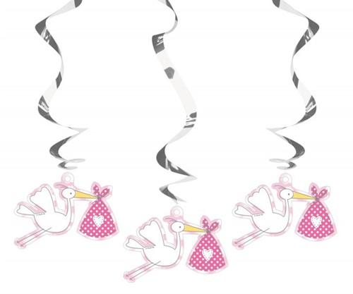 Hangdeco Geboorte Meisje - It's a Girl 3st.