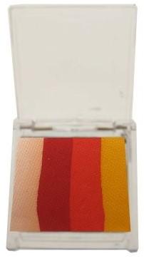 Splitcake Wit/Rood/Oranje/Geel