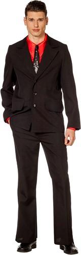 Disco kostuum Zwart