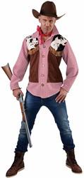 Cowboy Hemd+Vest 1dlg.