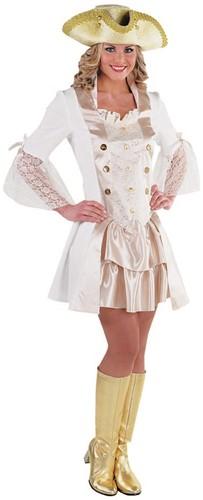 Dameskostuum Pirate Lady Luxe