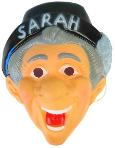 Masker Plastic Sarah met Hoed