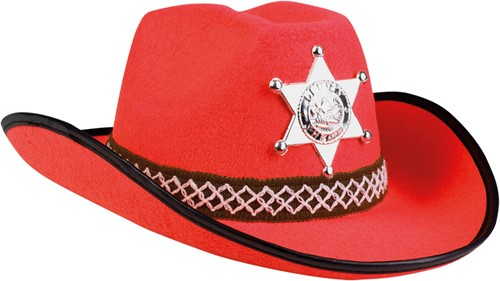 Kinder Cowboyhoed Sheriff Rood
