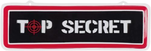 Wanddeco Top Secret