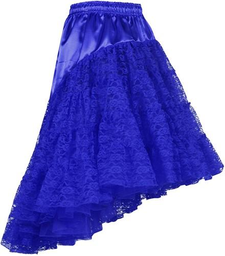 Petticoat met Kant Luxe Blauw
