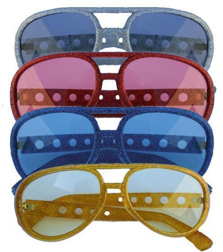 Discobril Glitter Elvis Rood