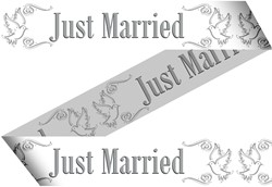 Markeerlint Just Married 15mtr