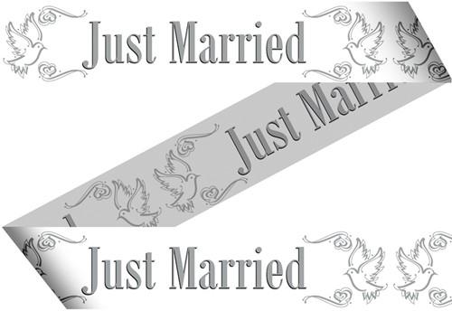 Markeerlint Just Married 15mtr