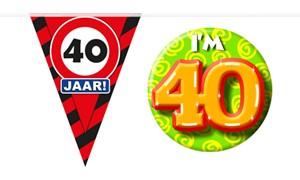 Decoratie & Versiering 40 jaar