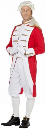 Herenkostuum Garde Rood-Wit