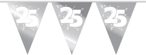 Vlaggenlijn 25 Jaar - Zilveren Bruiloft (10m)