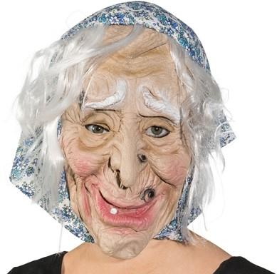 Masker Sarah Hoofddoek Blauw