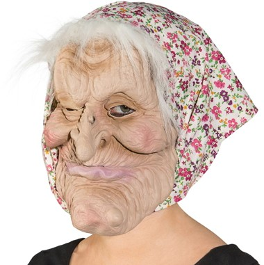 Masker Sarah Hoofddoek Pink