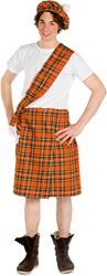 Kostuum Schot Oranje 3dlg