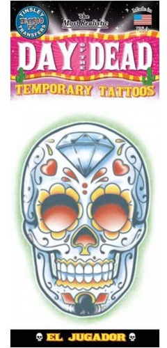 Tattoo Day of the Dead Skull