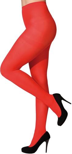 Panty 60 denier Blickdicht Rood