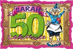Deurbord Sarah Stripes