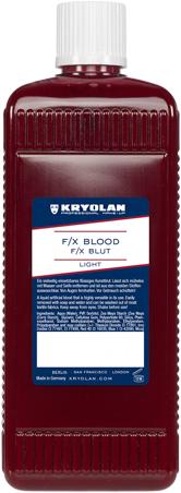 F/X Blood Light Kryolan 500ml