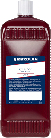 F/X Bloed  Light Kryolan 1000 ml