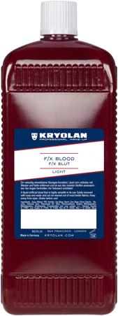 F/X Blood Light Kryolan 1000ml